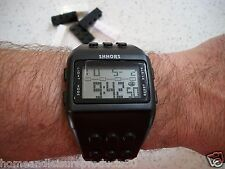 Brick-Style Digital Sports Watch