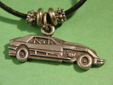 IMCA modified dirt track charm necklace auto race car Tracey's Racing Jewelry