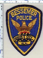Bessemer Police (Alabama) Shoulder Patch - uniform take-off from 1989