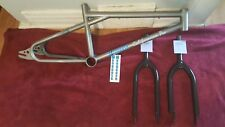 Old School Bmx 1988 Mongoose Californian Frame And Fork Motomag Vintage Rare