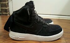 NIKE AIR FORCE 1 ONE HIGH '07, 315121-033, BLACK/WHITE, MEN'S SIZE 9