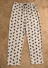 Ralph Lauren Polo Martini Bear Lounge Pajama Pants, Grey Cotton, Sz S, Preowned.