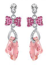 Butterfly Crystal Costume Earrings