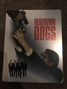 Reservoir Dogs Blu-ray Steelbook - VGC - Free Post