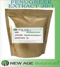 Fenugreek Extract Powder  [20:1] -  Trigonella foenum-graecum  - 100g