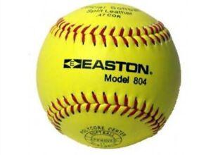 Easton Model 804 Match Softball 12 Pce Dozen