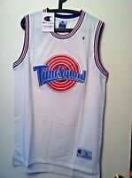 Youth Michael Jordan #23 Space Jam Tune Squad Basketball Jersey White S M L XL
