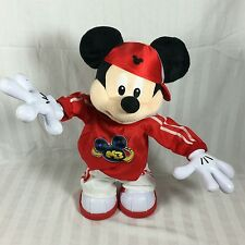 """Fisher-Price Master Moves Mickey Mouse M3 Break Dancing Toy 15"""" Doll Disney"""