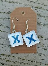 Xavier University Earrings Xavier Earrings Xavier Musketeers Earrings NCAA