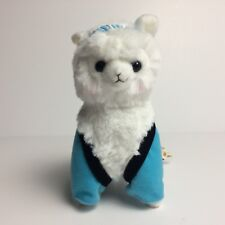 AMUSE Matsuri Festival Alpacasso Light Blue (16cm) Arpakasso Alpaca Plush Japan