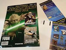 Star Wars Fact File YODA magazine Part 2 Inc X-wing