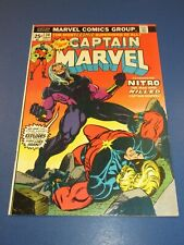 Captain Marvel #34 Bronze age Starlin 1st Nitro Key VFNM Beauty Wow