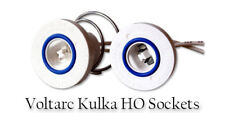 Sign repair PARTS Kulka 582-G & 583-G ROUND Snap-in Sockets Lamp Holders.