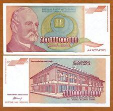 Yugoslavia, 500,000,000,000 (500000000000) Dinara, 1993, P-137, aUNC
