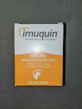 New listing Imuquin Immune Health Supplement for Dogs - New Box 30 powder packets 6+ Months