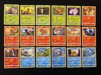 Pokemon  Team Up complete common/uncommon set