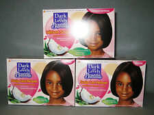 3 x DARK & LOVELY Beautiful Beginning No-Lye Relaxer Normal Hair Haarglätter