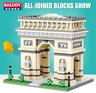 BALODY Bausteine Gebäude Architecture Weltberühmtes Geschenk Spielzeug