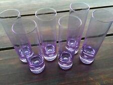Sevizio 6 Bicchieri Cristallo Vintage Anni 70 Arnolfo di Cambio style