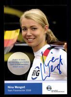 59979 Nina Waidacher Eishockey original signierte Autogrammkarte