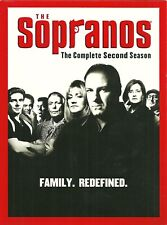 The Sopranos - The Complete Second Season (Dvd, 2001, 4-Disc Set) [Tv-Ma] Wide