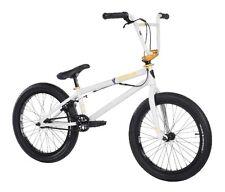 "2018 SUBROSA MALUM PARK 20"" BMX BIKE BICYCLE 100% CHROMO FRAME SHADOW WHITE NEW"