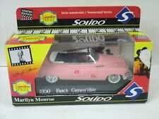 Solido 1950 Buick Conv. Signature Series Marilyn Monroe 1/43 limited Edition