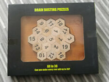 Wooden puzzle game - All in 38