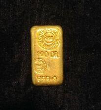 RARE Rothschild 100 Grams Gold Bar