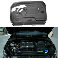 ReplacementCarbon Fiber Front Engine Cover Hood Trim for VW GOLF MK7 GTI R 14-17