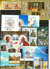 lotto emissioni congiunte francobolli Vaticano