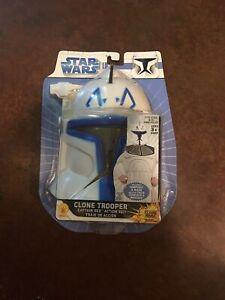 Size 8-10 Star Wars Storm Clone Trooper Captain Rex Costume Jumpsuit & Mask New