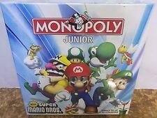Brand New Monopoly Junior Board Game - Super Mario Bros Version