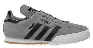 Adidas genuine Samba Super Gray Mens Trainers Casual Shoes UK stock