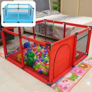 Baby Playpen Children Toddler Kids Indoor Outdoor Play Pen Ball Pool Basket  UK