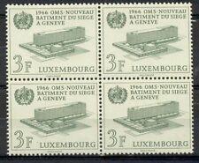Luxemburg - 1966 - Mi. 724 (Blok v. 4) - Postfris - L2008