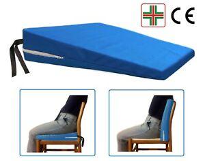 Cuscino a Cuneo Ortopedico Triangolo per una Corretta Seduta Rialzo Sedile Auto