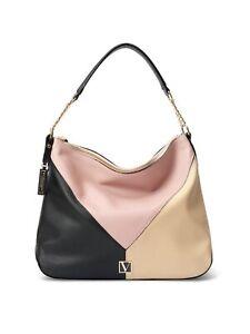 NWT Victoria's Secret The Victoria Handbag - Blush Colorblock