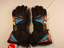 New Reusch Snow Board Gloves Wrist Brace Protection Womens Small (7) #4134286