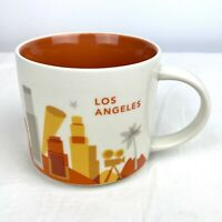 "2013 LOS ANGELES Starbucks ""You Are Here"" Collection Coffee Mug 14 oz. EUC"