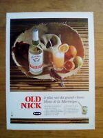 PUBLICITE ANCIENNE PUB ADVERT - Rhum Old nick dos beurdeley