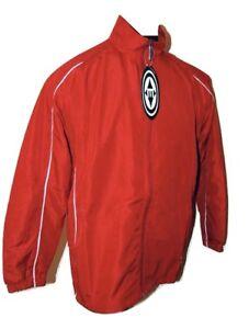 Easton Synergy Lightweight Red Hockey Warm Up Skate Jacket Size Medium