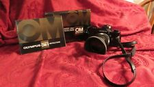 New ListingOlympus Om-1 35mm Slr Film Camera with 55 mm lens Box Instruction Manual