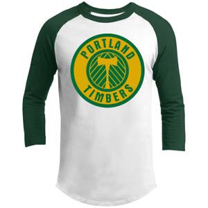 Portland Timbers NASL Soccer Team Tee Shirt T-Shirt, 3/4 Sleeve, V-Neck, Tank