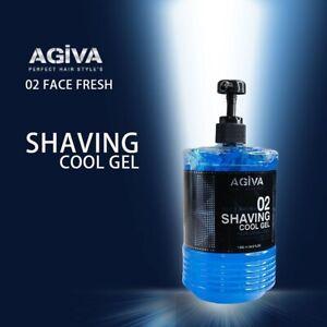 Barber Style  Agiva Cool Shaving Gel 02 - 500ml  - Barber Salon Equipment