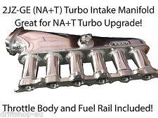 Racetune 2JZ-GE NA+T Billet Intake Manifold Plenum SET 2JZ Supra Soarer GS300 2J