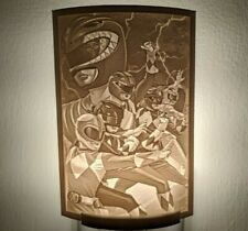 Power Rangers Lithophane Incandescent Night Light