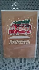 Marks And Spencer Handcrafted From All Of Us 3D Christmas Card RRP £2.75