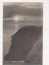 Norway Midnatsol Nordkap Vintage RP Postcard 490a