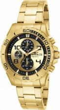 Invicta Signature II 7472 Men's Round Chronograph Date Gold Tone Analog Watch